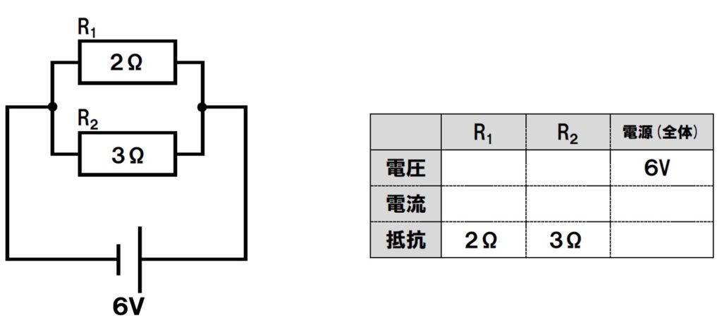 直列回路と並列回路の計算問題の解き方