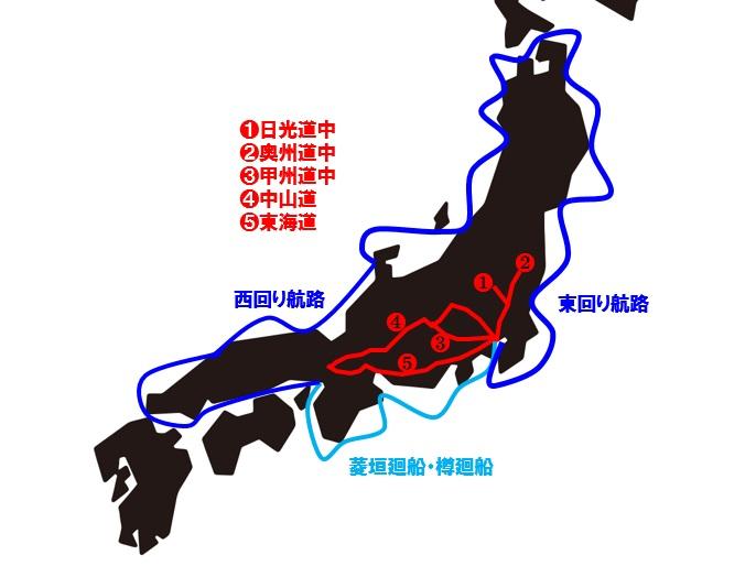 江戸の交通網