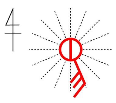 天気用図記号
