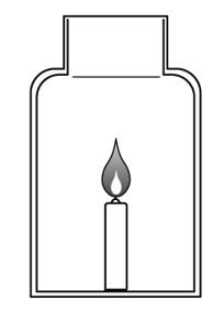 物質の燃え方