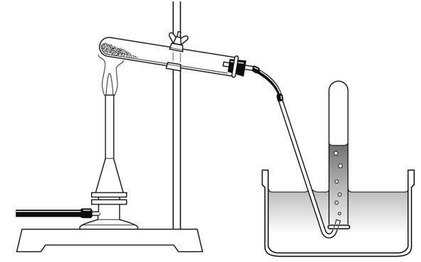 熱分解と気体の捕集 解答