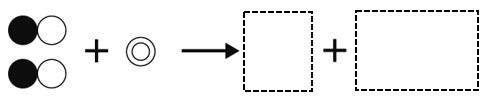 酸化銅の還元 モデル図