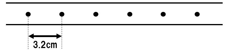 記録テープ 速さ計算1