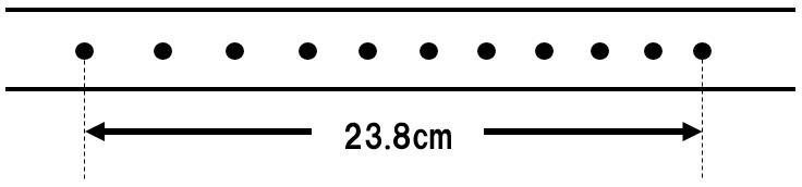 記録テープ 速さの計算3