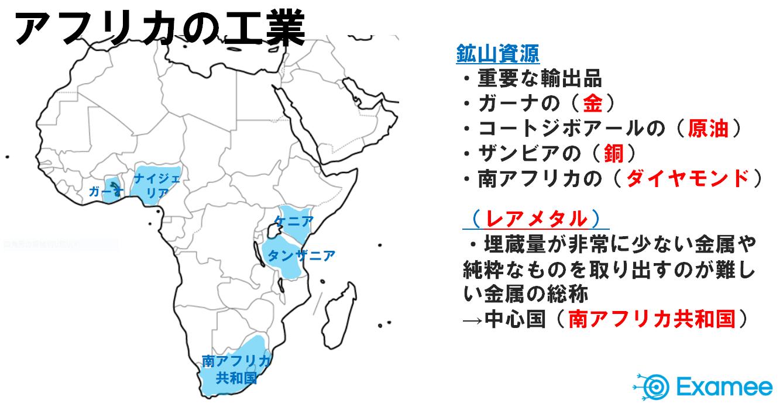アフリカの工業